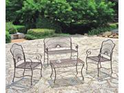 4 Piece Outdoor Furniture Set - by International Caravan