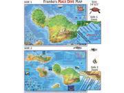 Franko Maps Maui Dive Map