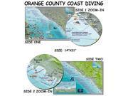 Franko Maps Orange County Coast Diving Map