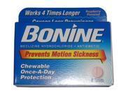 Bonine Chewable Motion Sickness Prevention Tablets
