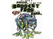 AO Baddest Frog in the Pond White T-Shirt L