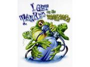 Amphibious Outfitters I Get Tanked White T-Shirt Medium