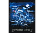 Amphibious Outfitters Dive the Night Black T-Shirt Med
