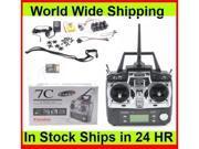 Futaba 7C 2.4GHz FASST Airplane Radio System 4x S3152 Servo & 2x R617FS Receiver