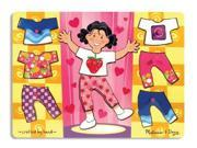 Melissa & Doug Girl Dress-Up Mix 'n Match Peg
