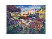 0200 pc Eagle Canyon Railway Cardboard Jigsaw