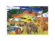 Melissa and Doug Safari Adventure Cardboard Jigsaw Puzzle (200 pc)