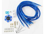 Nrg Ground Kit Gk-100 Blue 6-Point grounding System Nrg Innovations