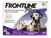 Frontline Plus for Dogs 45-88 lbs 3pk