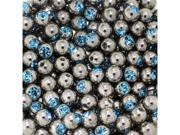Aqua - 16G 5mm Gem Replacement Balls Body Jewelry