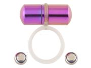Rasta Flag Koosh Micro Vibrating Non-Piercing Tongue Ring