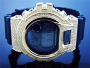 Men Casio G Shock 0.15CT Diamond Black Face Watch 6900