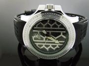 Men's Techno Master 0.15CT Diamond Watch TM-2138