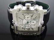 Mens Just bling 0.20 CT Square Diamond watch JB-6223-A