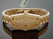 NEW SWISS MOVT AQUA MASTERW/ WOMEN 1.50CT 136 DIAMONDS
