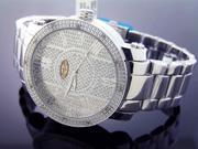 New Grand Master Round 12 Diamonds 50MM Watch 1S10