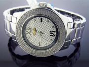 New Grand Master Round 12 Diamonds 47MM Watch 1S03