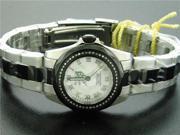 Invicta Women 0.37CT Diamond Swiss Quartz Stainless Steel Watch