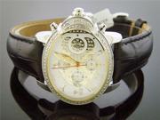 Women's Aqua Master Silver Oval 20 Diamond Watch
