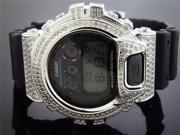 Casio G Shock 4.50Ct Full Case White big diamonds Watch