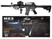 Double Eagle M4 M16 Airsoft Electric Assault Rifle M4A1 AEG Semi/Full Auto M83A2