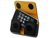 Apple iPhone 3G Horizontal Excel Leather Pouch Case w/ Removable Spring Belt Clip (Black)