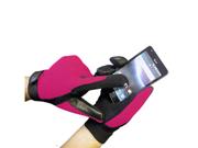 Touch Screen Black Boss Tech Mechanic Gloves BTP-GLV-MECPINK (Pink)