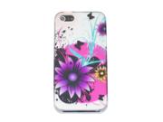"Apple iPhone 5 Crystal Hard Plastic Case - ""Dreamscape"" (Wonderland Special Series) (Purple)"