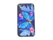 "Apple iPhone 5 Crystal Hard Plastic Case - ""Aurora-Scape"" (Wonderland Special Series) (Blue)"