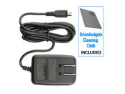 Blackberry Curve 9370 OEM Micro USB Home / Travel AC Charger w/ Folding Blades