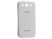 Samsung Galaxy S III OEM Replacement Spare Battery Cover Door (White)