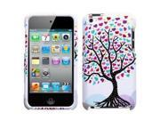 Fosmon Snap On Crystal Design Case for Apple iPod Touch 4 - Love Tree Design