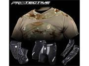 Dye 2011 Protection Pack - Knee, Elbow, Slide and Dye Performance Top in DyeCam