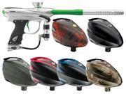 2014 Proto Reflex Rail Paintball Gun w/ Rotor - Clear/Lime