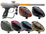 2014 Proto Reflex Rail Paintball Gun w/ Rotor - Graphite/Orange