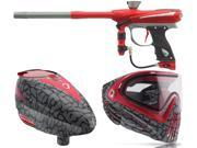 2015 Proto Reflex Rail – Red/Grey & Rotor Loader/ i4 Goggles – Skinned Red