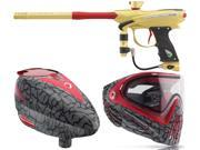 2015 Proto Reflex Rail – Gold/Red & Rotor Loader/ i4 Goggles – Skinned Red
