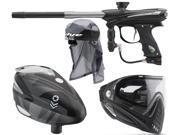 2015 Proto Reflex Rail – Black/Graphite & Rotor / i4 Goggles /Headwrap – Barracks Grey