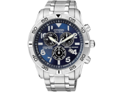 Citizen Perpetual Calendar Eco-Drive Chrono Silver Dial Mens Watch BL5470-57L