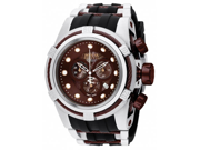 Invicta 0830 Reserve Bolt Chronograph Stainless Steel Case and Bracelet Mother of Pearl Dial