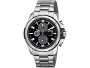 Citizen CA0428-56E Drive Chronograph Stainless Steel Case and Bracelet Black Dial Date Display