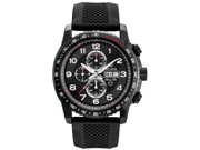 Bulova Marine Star Chronograph Black IP Stainless Steel Mens Watch 98C112
