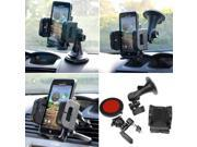 iKross 3in1 Car Vehicle Windshield / Dashboard / Air Vent Mount Holder for Smartphone