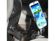 "iKross Cigarette Car Mount Holder with 2 USB Ports 2A for Apple iPhone 6 4.7"", 5S, 5C, 5, iPod Touch 5, LG G3, Motorola Moto X, Moto G, Samsung Galaxy Alpha, S5, S5 Mini, S4 & more Smartphones"