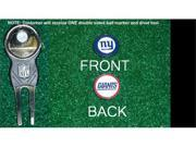 New York Giants NFL Divot Tool w/ One Double Sided Ball Marker