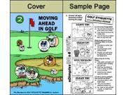 Moving Ahead in Golf Training Activity Book Great Item!