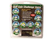 Golf Coin Challenge Game w/ Carrying Bag