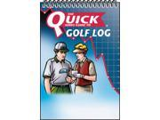 QuickSeries Guide to Golf Log Pocket Size Full Color