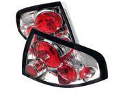 Nissan Sentra 00-03 Euro Style Tail Lights - Chrome