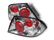 Mitsubishi Lancer 02-03 (Not Fit: Evolution) Euro Style Tail Lights - Chrome